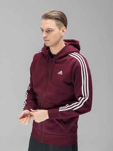 f882e2ded0e5 Adidas Ess 3s Fz B férfi kapucnis cipzáras pulóver - Glami.hu