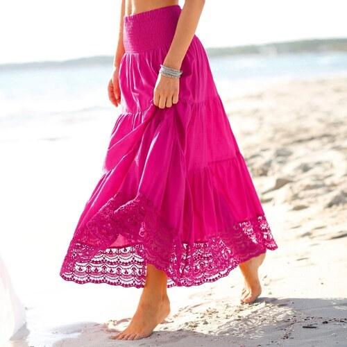 fbb4beef4f8b Blancheporte Dlhá sukňa indická ružová - Glami.sk