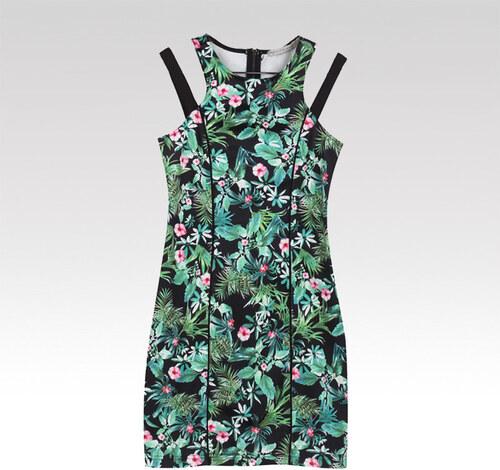 Glo-Story dámske šaty Jungle zelené - Glami.sk 7a87bc76149