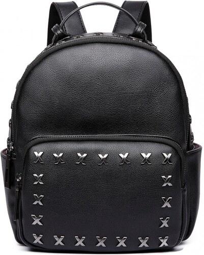 ba402b572fe Stylový dámský módní batoh E6649 černý Lulu Bags (Anglie) - Glami.cz