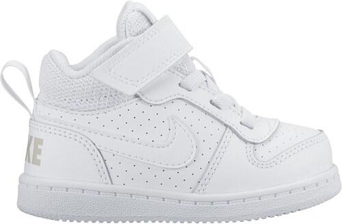 Dětské Tenisky Nike COURT BOROUGH MID (TDV) WHITE WHITE - Glami.sk 95b1f2f5c0