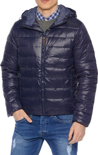 62194532471 Pepe Jeans pánská tmavě modrá péřová bunda Galdor - Glami.cz