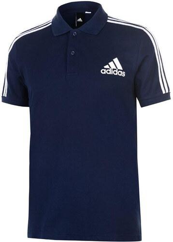 Adidas 3S Logo galléros férfi póló - Glami.hu 46a9503862