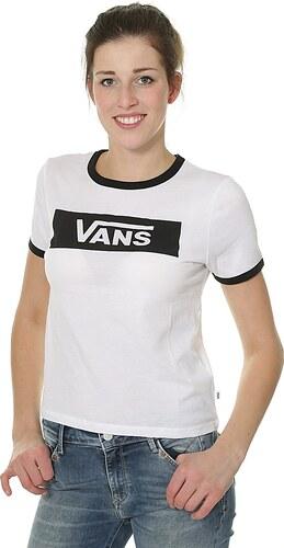 tričko Vans Open Road - White Black - Glami.cz 36dc503643