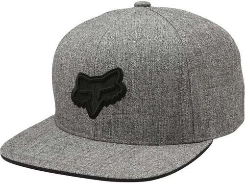 b16eef42db0 Kšiltovka Fox Legacy Snapback Hat Heather Grey ONE SIZE - Glami.cz