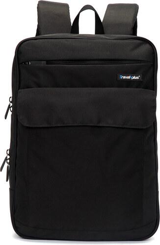 Černý školní a cestovní batoh - Travel plus 0127 černá - Glami.cz 4ce6f2e1f6