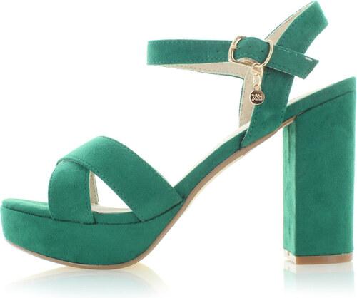 6427638327f7 XTI Zelené sandále 30751 - Glami.sk