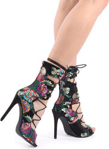 5137cd3b9b Sergio Todzi Čierne sandále Juliet
