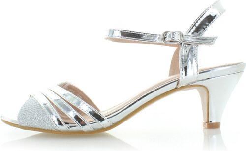 361d478715c9 Belle Women Strieborné sandále Carolina - Glami.sk