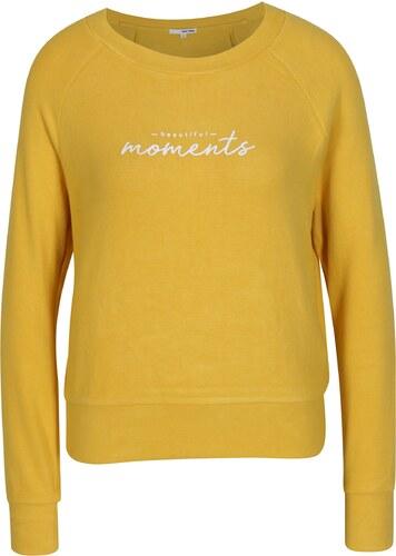 577444d76c Žlté tričko s dlhým rukávom TALLY WEiJL - Glami.sk
