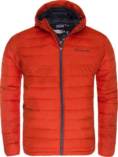 Zimní bunda pánská Columbia Powder Lite Hooded Jacket Hot Pepper ... 7fde7b54403