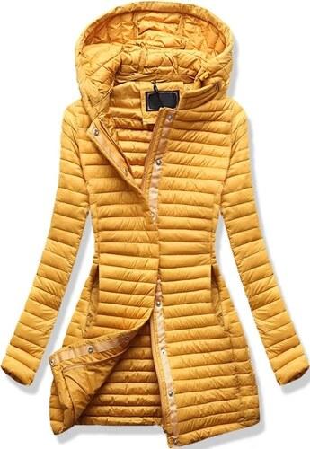 c2530d902b MODOVO Női steppelt kabát 7222 sárga - Glami.hu