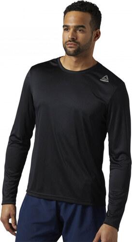 Pánske tričko Reebok RUN LS TEE (Čierna) - Glami.sk 5d5f67a956