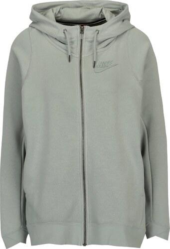 cbc73618a8a97 Svetlozelená dámska mikina s kapucňou Nike - Glami.sk