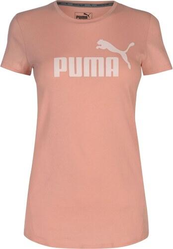 Triko Puma Essence No1 Logo T Shirt dámské Peach Beige - Glami.sk f9d9ebfdc27