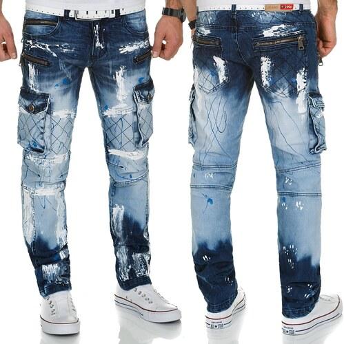 KOSMO LUPO kalhoty pánské KM135-1 jeans džíny - Glami.cz a503544484
