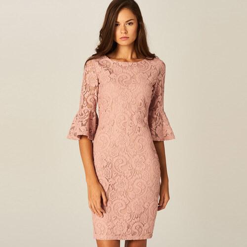 263b53daf934 Mohito - Puzdrové čipkované šaty - Ružová - Glami.sk