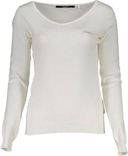 Woman Pullover Guess Jeans - L   Bílá - Glami.cz 25c38b08e32