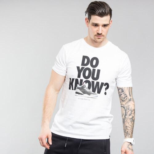 Jordan M JSW Tee AJ3 Do You Know biele - Glami.sk 6a5cb71e486