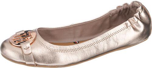 Tommy Hilfiger dámské baleríny Rose Gold - Glami.cz 146cb5014f