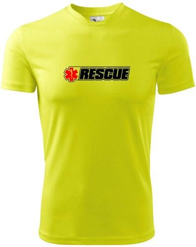 fdf6869a7d7e Myshirt Záchranár rescue kríž Pánske tričko Fantasy športové - Glami.sk