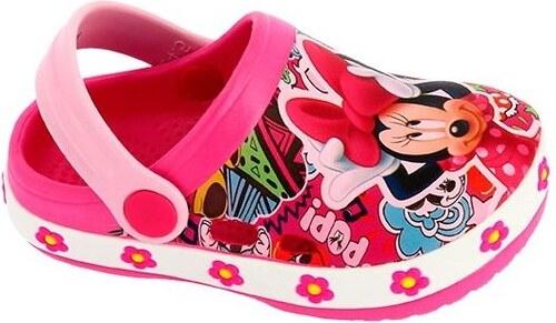 Disney by Arnetta Dievčenské sandále Minnie - ružové - Glami.sk 4c6b631dfee
