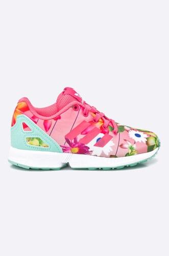 adidas Originals - Detské topánky Zx Flux - Glami.sk d7d689ca6a5