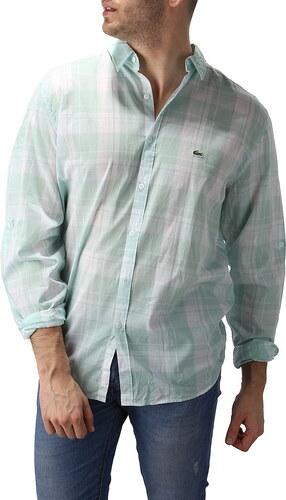 Pánská košile Lacoste - Glami.cz 99619eb681