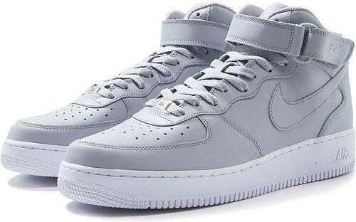 Pánske tenisky Nike Air Force 1 Mid `07 Wolf Grey White - Glami.sk dbc27bb2b30