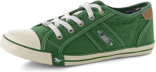 Mustang dámské tenisky zelené 1099-302 - Glami.cz d54eea99a1