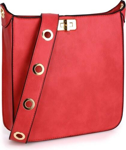 Červená kabelka L   S Bags Duna - Glami.sk 082a370d34f