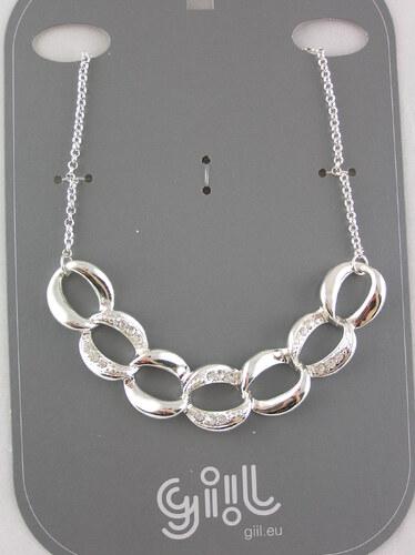 fa5aae968 Lesklý masivní kamínkový náhrdelník - Glami.cz