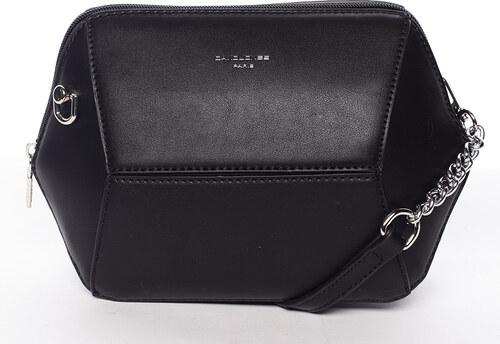 Originálna malá crossbody kabelka čierna - David Jones Fitt čierna ... 46f1678d845