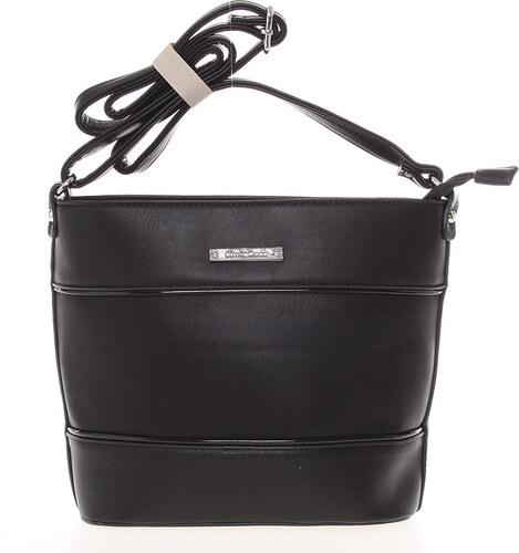 60db869102 Módna a elegantná crossbody kabelka čierna - Silvia Rosa Jenesis čierna