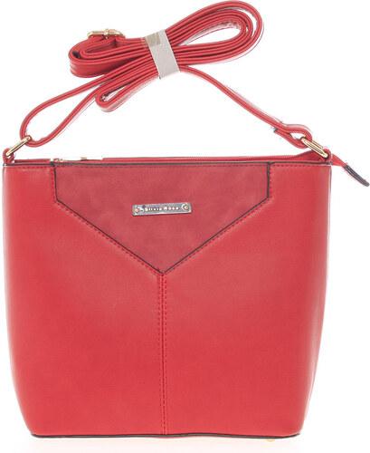 ec5dfd1a95 Moderná a elegantná červená crossbody kabelka - Silvia Rosa Kairos červená