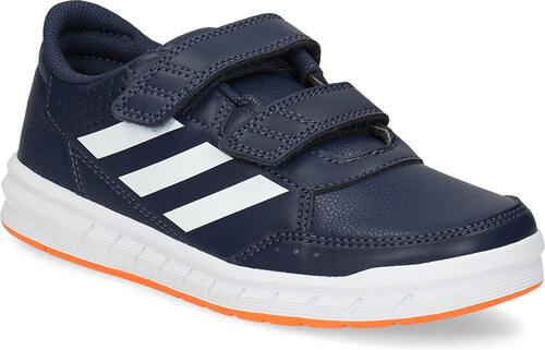 Adidas Modré detské tenisky na suchý zips - Glami.sk 94108d8d101