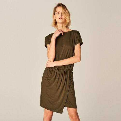 c30984d93218 Mohito - Prekladané šaty - Zelená - Glami.sk