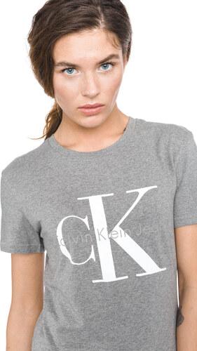 Női Calvin Klein Shrunken Póló Szürke - Glami.hu 040364a017