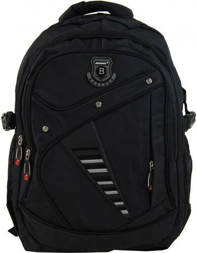 New Berry Větší batoh NEWBERRY do školy i na sportování L1911 černý ... fc8c5c1501