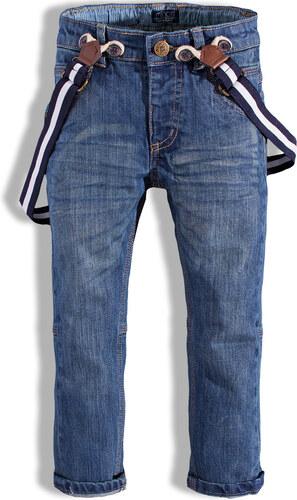Chlapecké džíny s kšandami MINOTI FENWAY modré - Glami.cz 061c3cc99c