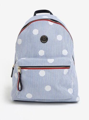 Světle modrý vzorovaný batoh Tommy Hilfiger - Glami.cz 9f8dd3b670
