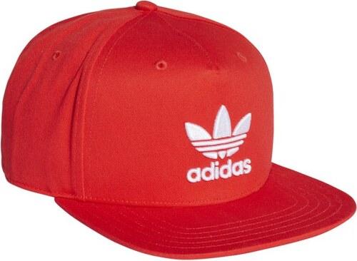 eab0f7fef06 adidas Originals adidas AC CAP TRE FLAT CORE RED S17 WHITE - Glami.cz