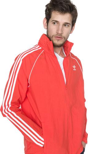 ddc6201b796b2 adidas Originals SST Windbreaker Bunda Červená Oranžová - Glami.sk