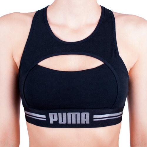 Dámská sportovní podprsenka Puma černá (583007001 200) - Glami.cz fca997d7e4