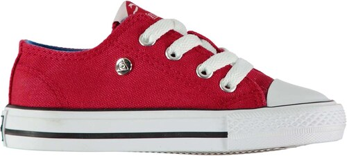 6f001131b06f9 Dunlop Canvas Low Infants Trainers Red - Glami.sk