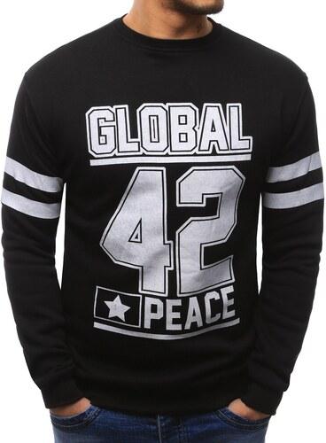 729cedecc6 Fekete férfi pulóver Global 42 - Glami.hu