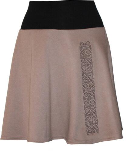 Radka Kudrnová Těhotenská béžová sukně 975a084512