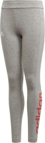 adidas PERFORMANCE Dámské šedé legíny Essentials Linear Tights ... ae94dae2eb
