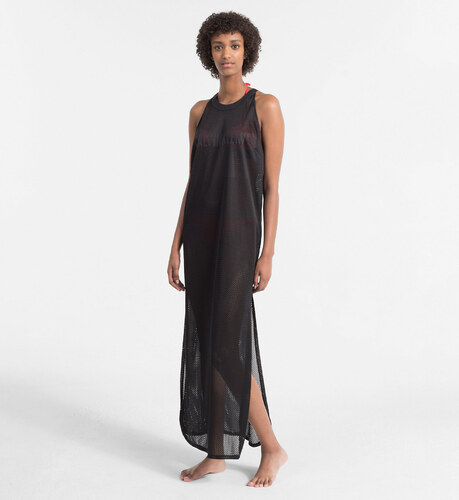 d1310c1371b7 Plážové šaty Mesh Dress KW0KW00377 - Calvin Klein - Glami.sk