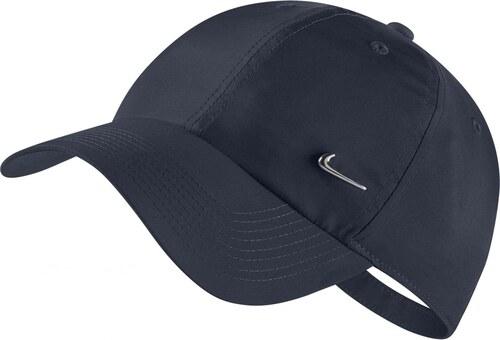 Čepice Nike U NSW H86 CAP NK METAL SWOOSH OBSIDIAN METALLIC SILVER ... 49956b7290